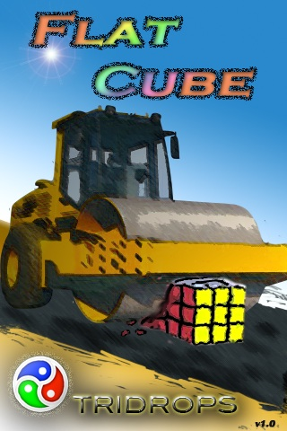 Screenshot Flat Cube