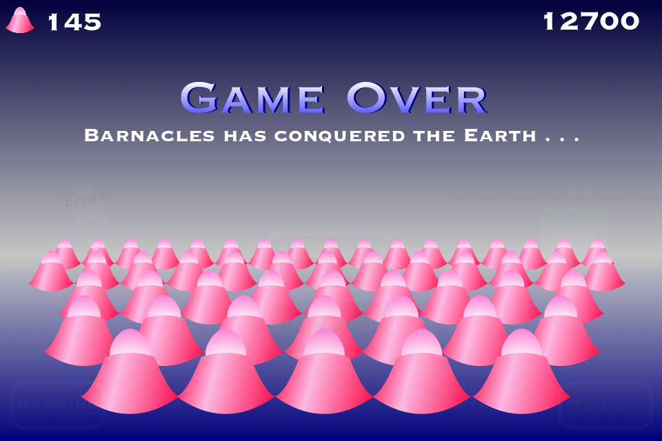 Screenshot Barnacle 3D – Barnacles has conquered the Earth . . . -