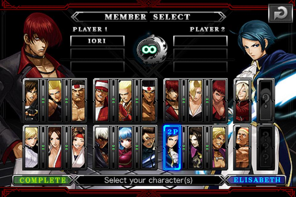 Screenshot The King of Fighters-i Review